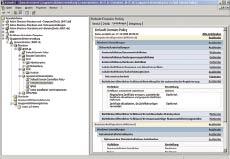 Рисунок 2. GPMC от Microsoft предлагает графический интерфейс для управления групповыми директивами, но не содержит универсальных средств управления изменениями.