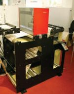 Стенд Nikka Research Deutschland. Системы инспекции Nikka ALIS L оснащаются новыми камерами линейного сканирования, увеличивающими скорость до 300 м/мин