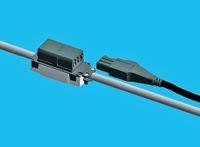 Рисунок 7. Адаптеры R&M RCO Power устанавливаются на любые круглые кабели, позволяя подавать до 300 Вт на рабочее место.