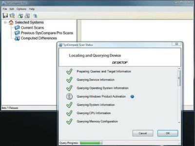 Графический интерфейс SysCompare Pro