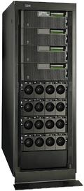 Лидер продаж, сервер среднего класса IBM Power 570, отныне поставляется спроцессором Power6, работающим на тактовой частоте 5 ГГц