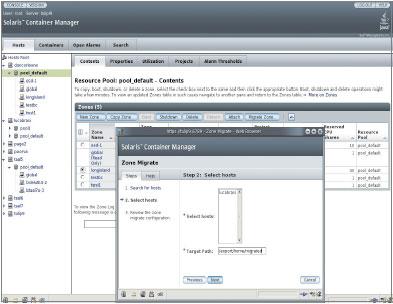Изначально функция Solaris Containers, появившаяся около двух споловиной лет назад, позволяла исполнять на одном сервере по нескольку копий лишь самой Solaris. ВSolaris 108/07 пользователи могут работать сприложениями Red Hat Enterprise Linux, CentOS Linux иLinux спомощью Solaris Containers for Linux Applications