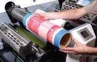 Рукавные формы на гибридной печатной машине MPS EF