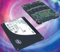 MLC-диск Intel X25-M Вся флэш-память Intel для SSD производится по техпроцессу 50 нм с логикой типа NAND (NOT AND), характеризующейся блочным доступом к данным. Козырь протестированного MLC-диска Intel — емкость, у этой модели она составляет 80 Гбайт.