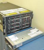 С заделом на будущее. Новые серверы HP пятого поколения с процессорами AMD Opteron 2300 и увеличенным объемом оперативной памяти оснащаются двумя адаптерами 10 Gigabit Ethernet, однако серверное шасси будет поддерживать такие высокоскоростные соединения лишь с середины ноября после выпуска новых модулей виртуализации ввода/вывода HP Virtual Connext Flex-10.