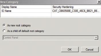 Экран 4. Новая категория всоздаваемом файле .admx