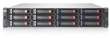 В состав дисковых массивов начального уровня MSA2000 входят модели с интерфейсами Fibre Channel и iSCSI, каждая из них может поставляться с одним или двумя контроллерами