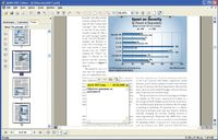 Комментирование документа PDF в программе Jaws PDF editor