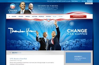 Политика 2.0: Обама закрепил успех с помощью технологий