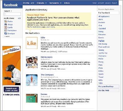 Компания Facebook уже использует Thrift для внутренних разработок, спомощью этой среды были созданы многие возможности поддерживаемого ею популярного сайта социальной сети, втом числе функция News Feed, выполняющая обновления статуса пользователя, имеханизм поиска
