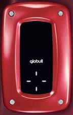 Globull - небольшое устройство в ярко-красном корпусе, по размеру сопоставимое с iPod Classic, весом 120 грамм
