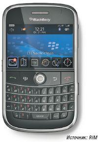 Рисунок 2. На таких устройствах, как новый Blackberry Bold, сохраняемые данные автоматически шифруются с помощью AES-256.