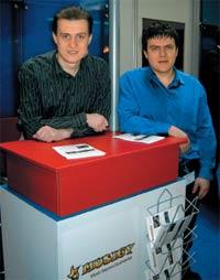 Станислав Воног (слева) и Николай Сурин — разработчики Musigy
