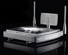 Маршрутизатор Linksys Wireless-N Gigabit Gaming Router выделяет более высокий приоритет для потокового видео, IP-телефонии и других чувствительных ко времени отклика приложений