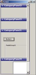 Использование нового компонента TСategoryPanelGroup