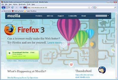 По мнению аналитиков, Firefox 3.0 – это эволюционное, а не революционное обновление