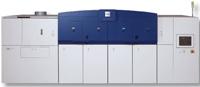 Цветная машина непрерывной печати Xerox 490/480 на Drupa будет печатать материалы с 600 dpi. Скорость работы до 70 м/мин или 493 односторонних двойника А4 (25 м/имн в режиме дуплекса). Будет поставляться в США в этом году