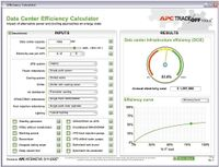 Рисунок 10. Инструментарий APC TradeOff Tools включает в себя компоненты Data Center Energy Efficiency Calculator для расчета энергоэффективности ЦОД и стоимости электроэнергии, Data Center Capital Cost Calculator для оценки капитальных затрат и Power Sizing Calculator для определения потребности в электропитании исходя из ожидаемой нагрузки. Carbon Calculator помогает оценить, насколько параметры проекта отвечают требованиям «зеленого» ЦОД; Virtualization Energy Cost Calculator позволяет выяснить, что даст виртуализация серверов; InRow Containment Selector упрощает выбор конфигурации систем охлаждения стоек, а ACvs.DCCalculator — выбор систем электропитания.