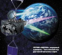 Спутник «Кидзуна», запущенный 23февраля,— часть японской государственной программы e-Japan