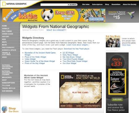В National Geographic считают, что виджет сголоволомкой — недорогой ипрактически не требующий усилий способ выйти на страницы таких сайтов, как Facebook