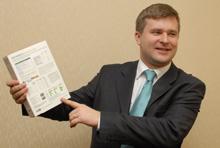 Андрей Албитов, глава представительства Eset в России, представляет новые продукты компании