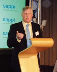 Исполнительный директор Sappi Fine Paper Europe Бери Виерсум напомнил о важности печатных носителей и качественной бумаги для маркетинга бренда