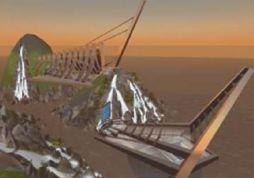 Рис. 1. Сцены из Second Life