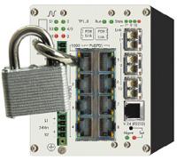 Рисунок 4. Управляемый промышленный коммутатор Nexans iSwitch G1043.
