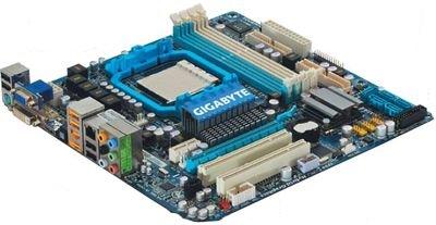 Системная плата компании Gigabyte, в отличие от остальных, имеет процессорный разъем АМ3 и, следовательно, поддерживает память DDR3. Она изготовлена с применением технологии Ultra Durable 3, направленной на увеличение ее срока службы и повышение надежности