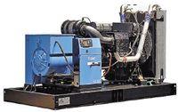 Рисунок 2. ДГУ в открытом исполнении (установка компании SDMO мощностью 630 кВА).