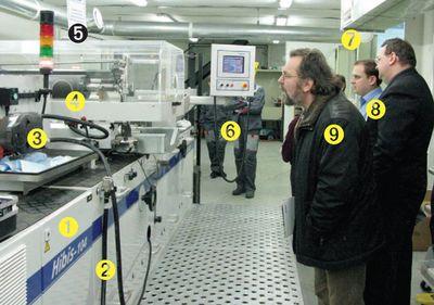 Презентация машины Steinemann Hibis-104 в типографии