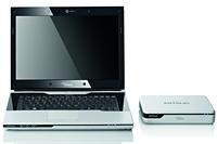 Пока Amilo Sa 3650 - единственный ноутбук, способный работать с внешним графическим ускорителем