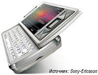 Рисунок 3. Новый флагман среди смартфонов от Sony-Ericsson — X1 — это мультимедийный мобильный телефон, оснащенный множеством функций для делового применения.