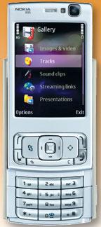 Nokis N95 - Флагман мильтимедийной линейки компании, обладающий впечатляющими возможностями