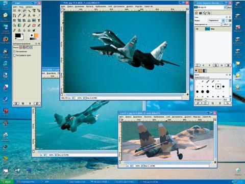 Самый популярный открытый графический редактор GIMP будет признан профессионалами только после появления поддержки CMYK