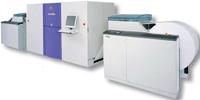 Screen покажет посетителям On Demand и Drupa цветную струйную машину непрерывной печати Truepress Jet520 (вверху) для текстовой и иллюстрационной печати (уже поступила в продажу). Рулонная подача бумаги позволяет достичь скорости до 65 м/мин