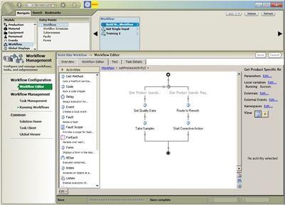 Новый интерфейс программного обеспечения GE Fanuc реализован в Proficy Workflow