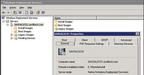 Экран 1. Информация о работе сервера в однородном режиме