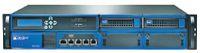 Рисунок 1. WOC  ускоряет удаленный доступ к централизованным ресурсам благодаря механизмам оптимизации на уровне сетей и приложений (устройство WXC 3400 от Juniper).