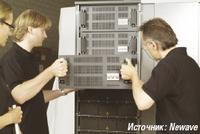 Рисунок 2. Производительность системы ИБП легко повышается с помощью дополнительных модулей.