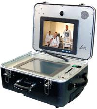 Мобильный телемедицинский терминал, применяемый в машинах скорой помощи, медицине катастроф, МЧС