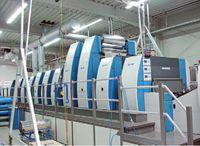 Автоматические системы припрессовки фольги могут устанавливаться на самые разнообразные устройства, начиная буквально от струйного этикеточного принтера и заканчивая модулем  Scienta Foilflow на этой KBA