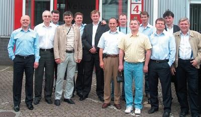 В числе гостей завода в Дидаме — представители крупнейших российских упаковочных и этикеточных производств