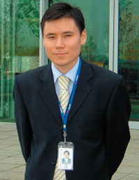«Полагаю, что основным событием недавнего прошлого является кардинальное повышение скоростей передачи данных в мобильных сетях»,— Айбек Баканов, начальник отдела технической экспертизы департамента продаж мобильной продукции Huawei Technologies