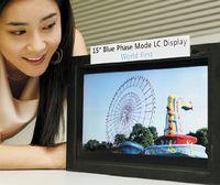 Samsung планирует начать массовое производство жидкокристаллических панелей Blue Phase в2011 году