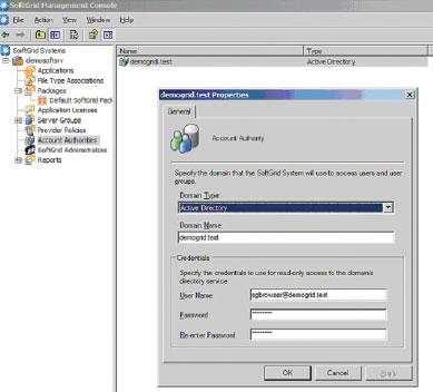 Экран 4. Обновление пароля учетной записи вAD