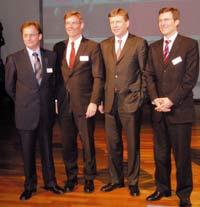 Редкий снимок — сразу 4 члена совета директоров MAN Roland