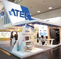 Рисунок 1. На выставке CeBIT компания Aten представила коммутатор KN4140 для KVM по IP, который должен появиться на рынке в конце  года.