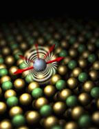 Инженерам корпорации IBM сообщили в феврале, что им удалось найти способ измерения силы, которую необходимо приложить для перемещения атома