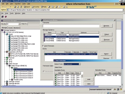 Программные симуляторы оборудования EMC для проведения лабораторных работ— единственная связь программы с технологиями производителя